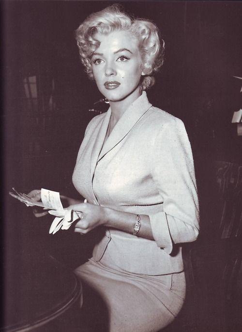 Miss Monroe. #marilyn #monroe