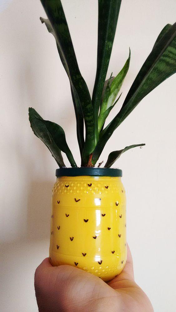 vaso abacaxi diy a casa que a minha vo queria (8):