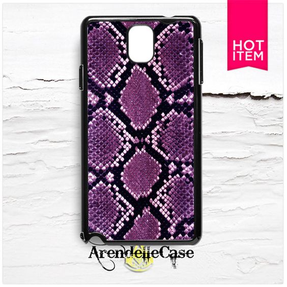 Purple Snake Skin Pattern Samsung Galaxy Note 3 Case