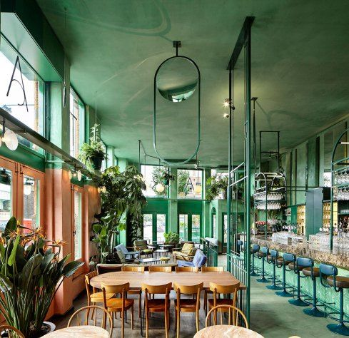 Bar Botanique in Amsterdam by Studio Modijefsky | Yellowtrace