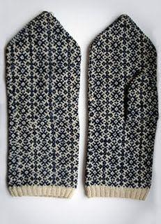 Nordic mittens: Pretty Pattern, Estonian Mittens, Fairisle Mittens Pattern, Knitting Patterns, Mulgi Mittens, Knitted Mittens, Estonian Pattern