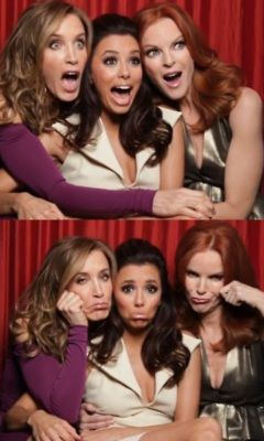 Marcia Cross, Felicity Huffman, and Eva Longoria
