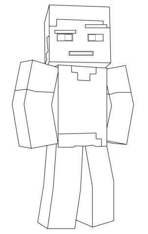 Minecraft Steve Malvorlagen Malvorlagen Minecraft Ausmalbilder Minecraft Zeichnungen
