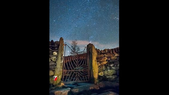 'Gateway to the stars' - Cwm Idwal, Snowdonia. Photograph by Kristofer Williams, 10th January 2013. Pinned from BBC Stargazers website gallery.
