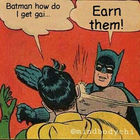 This detective knows the deal about those gainz #earnit  #gainz #batmanandrobin #fitspo