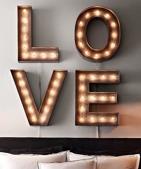 restoration hardware vintage illuminated marquee letters wishlist pinterest marquee letters living room tables and hanging lights