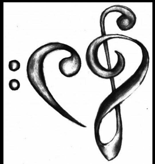 Fondos Musica Notas Musicales Dibujos Dibujos Musicales Dibujos De Corazones