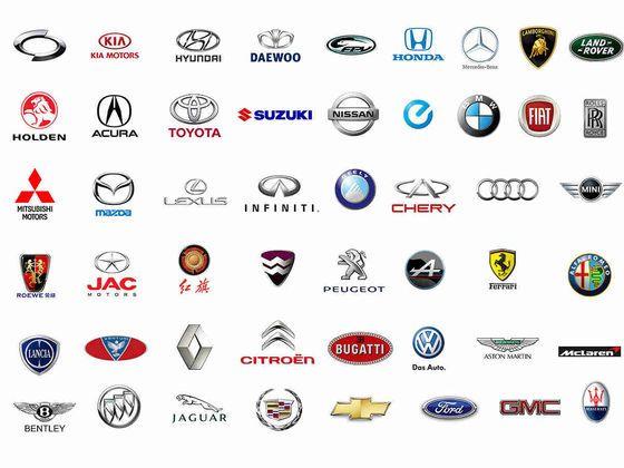 How Many Of These Logos Do You Recognize Quiz Cow Car Logos With Names All Car Logos Car Brands Logos