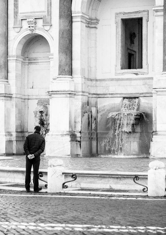 Rome's big fountain