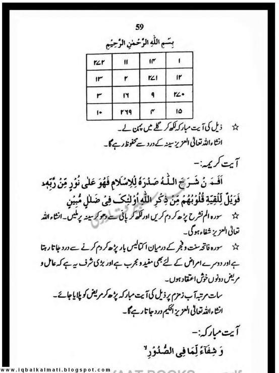 Quran Se Jismani Ilaj New | seeny ka mareez k liye | Quran