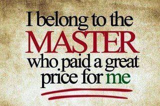 Master, Savior . . . Jesus