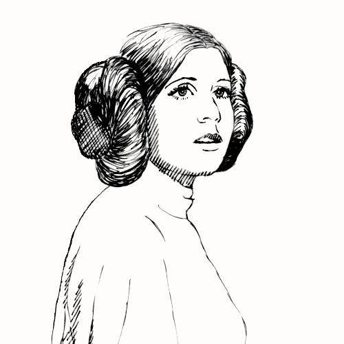 Orincess Leia Organa Star Wars Artwork Star Wars Drawings Star Wars Fan Art