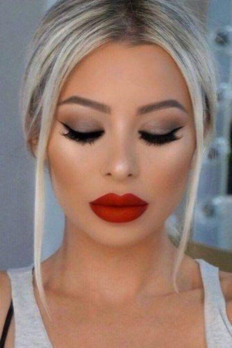 Cute Lipsticks Ideas That Look Incredible On Women 07 Red Lip