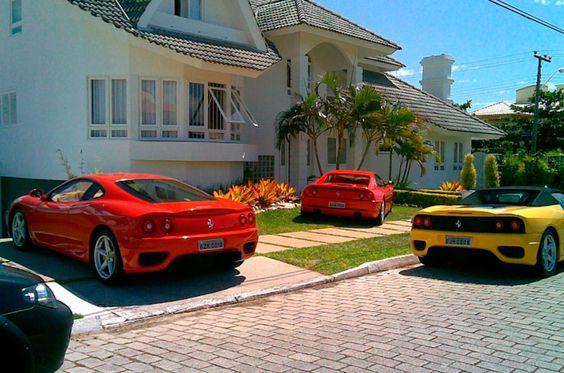 Ferraris em Jurerê!: