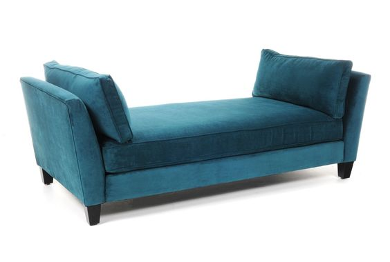 Seth daybed lounge beautiful chaise lounge chairs and for Small fainting couch