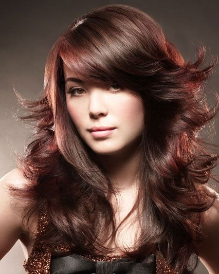Her hair color is beautiful! Shwarzkopf color is amazing.  #fall #hair #color #trends