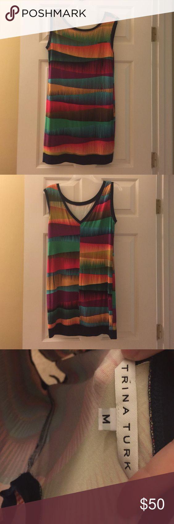 Trina Turk dress Stretchy, form- fitting dress. Trina Turk Dresses