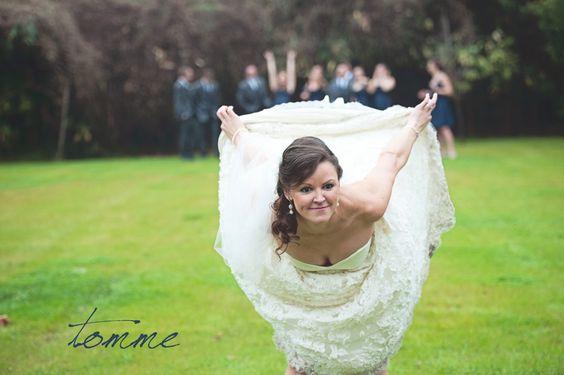 LOVE THIS BRIDE!