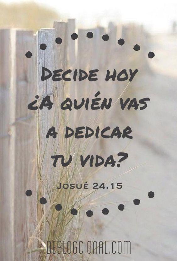 """""""Sólo tú puedes decidir seguir o no a Jesús"""" http://www.deblogcional.com/?p=310"""