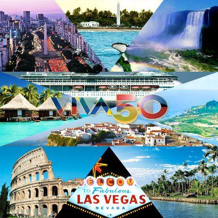 Querida amiga, A convite da Agaxtur Turismo, que completa 60 anos de vida,selecionamos 10 lugares incríveis que nenhuma Viva50...