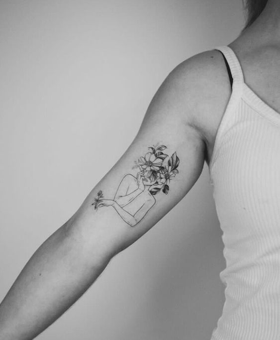 14 Small Tattoo Ideas Vivaglee Arm Tattoos For Women Silhouette Tattoos Tattoos