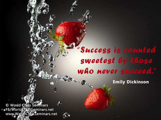 emily dickinson s success is counted sweetest 2018-7-31  success is counted sweetest / by those who ne'er succeed / to comprehend a nectar / requires sorest need / not one of all the purple host / who took the flag to-day / can tell the.