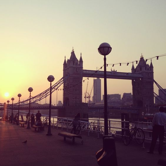 London Bridge on a Summer's evening.