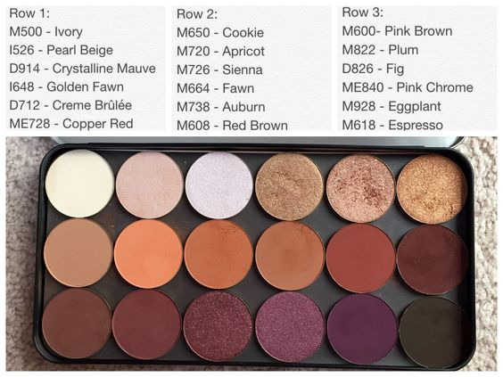Makeup forever products like these artists shadows make them one of the best makeup brands!