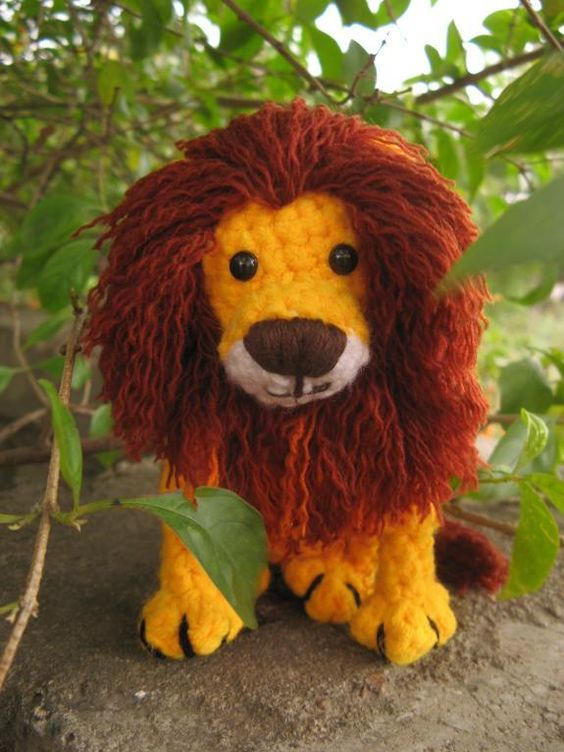 Amigurumi Lion Crochet Pattern : Amigurumi lion crochet pattern pdf lan patterns