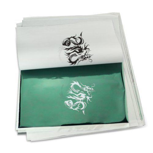 10x 4 lagig Matritzenpapier TATTOO T?towierung Transfer Papier MATRIZENPAPIER | Your #1 Source for Beauty Products