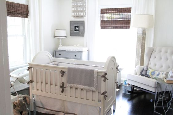 Add textures to make an otherwise neutral nursery really pop!