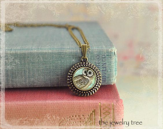 Art Photo Jewelry  Antique Bronze Round Frame by TheJewelryTree, $14.00