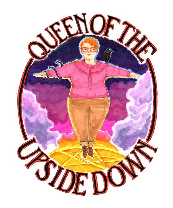 Barb Queen of the Upside Down Stranger Things by jasonedwarddavis