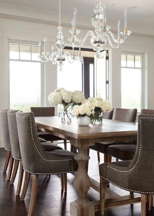 Tavoli Da Pranzo Importanti.Come Arredare La Sala Da Pranzo In Stile Classico Arredamento