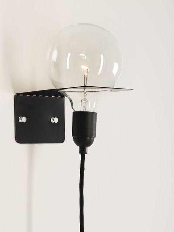 Lamps like this, elegant design.  Neostil Inside Theo Lamp White by   Goodstead   Goodstead