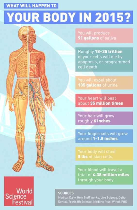 Here's What Will Happen to Your Body in 2015