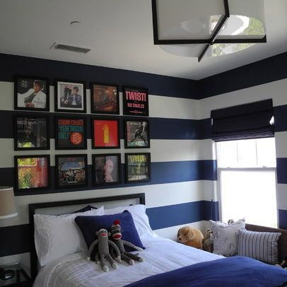 Cool bedroom ideas for pre teen boy the bold stripes for Bold bedroom ideas