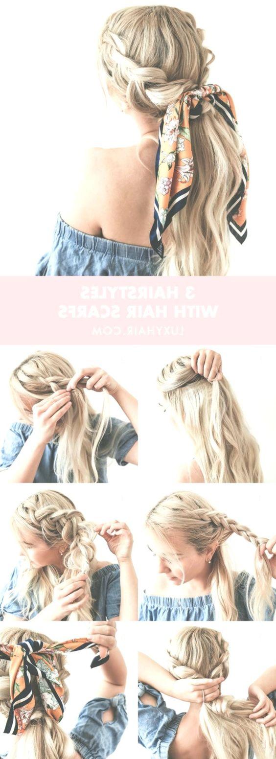 Penteados de verão com lenços de cabeça #tendenciasdeunas