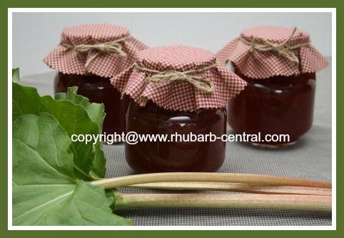 Rhubarb jam recipes, Jam recipes and Rose water on Pinterest