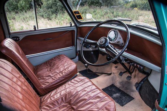 Inside the original getaway car: Mini Wildgoose camper