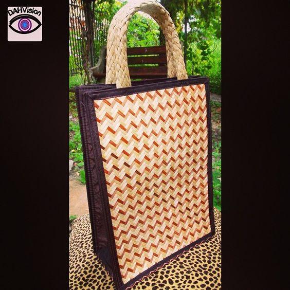 #Houndstooth #Bamboo #Bag on #Sale at DahVision.com. #Enjoy your Day. #fashion #stylish #love #me #cute #photooftheday #beauty #beautiful
