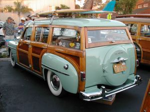 vintage swedish travel trailer | Her er fotos fra WaveCrest Woody Meet 2003 i Encinitas (SoCal)..: