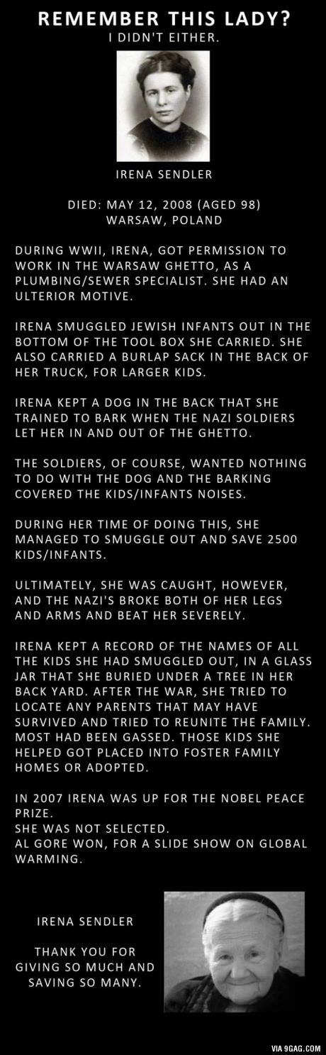 A true hero: