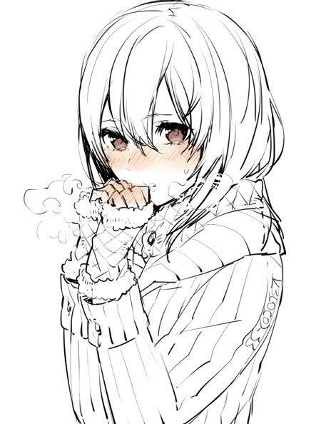 Beautiful Anime Girls 7anime Net Nabroski Risovat Risunki