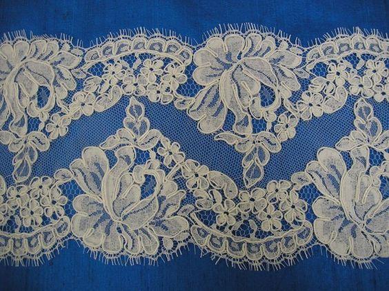 french alencon lace