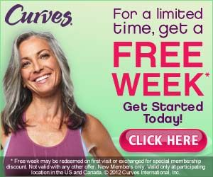 FREE One Week Pass for CURVES!