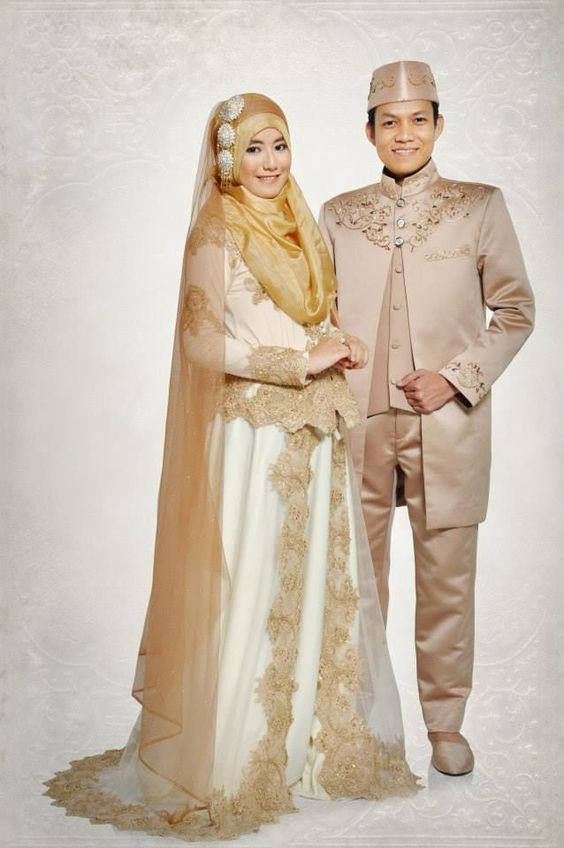 Foto Baju Pengantin Muslim Modern