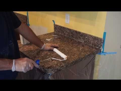 Crystaltop Sealer For Painted Countertops Youtube Painting