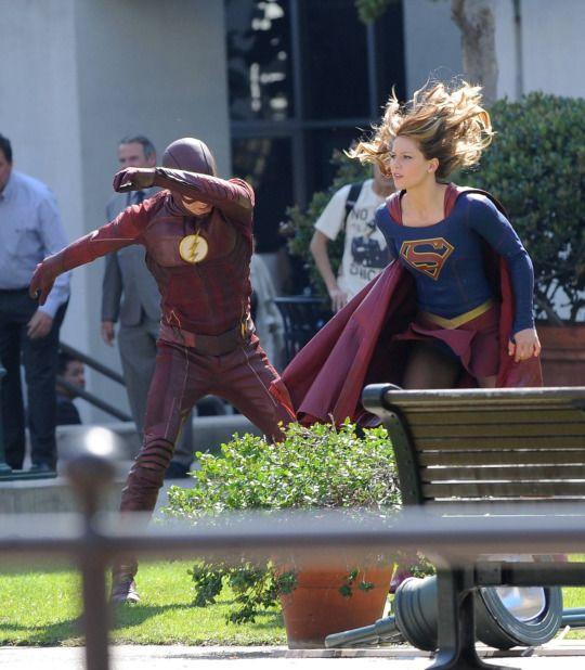 The Flash & Supergirl