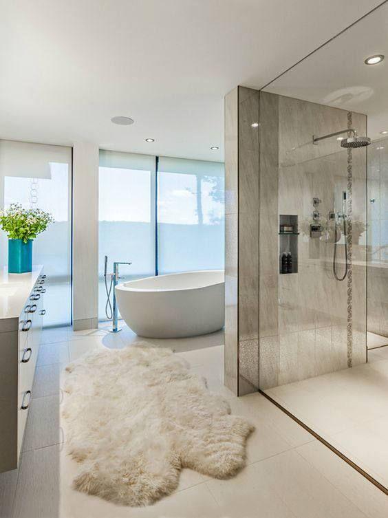 Interior Goals 25 Amazing Luxury Bathrooms From Luxe With Love Modern Master Bathroom Bathroom Interior Design Modern Bathroom Design